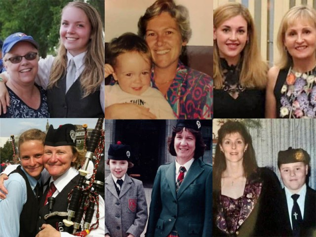 For the moms: six accomplished players and their celebrated mothers