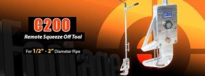 C200 Pipe Squeeze-Off Tool