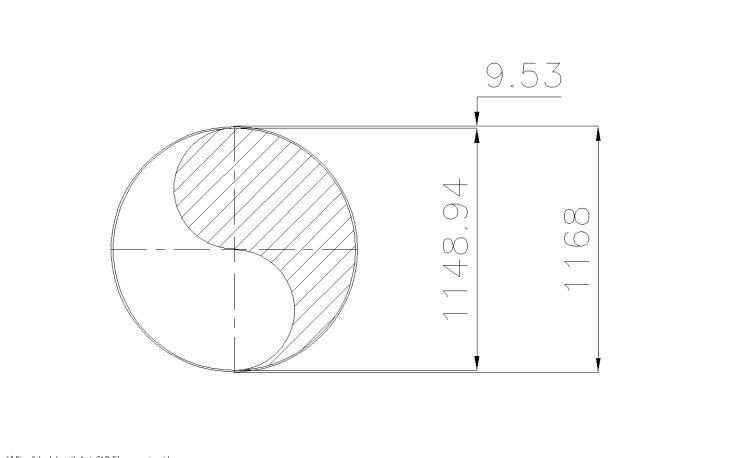 Schedule STD Pipe 46 Inch DN1150