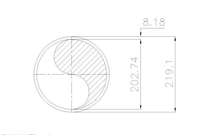 Schedule STD Pipe 8 Inch DN200