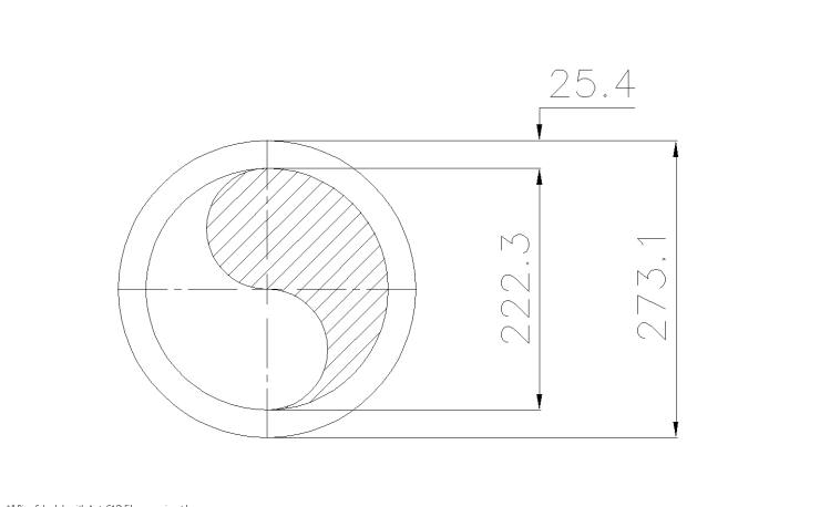 Schedule XXS Pipe 10 Inch DN250