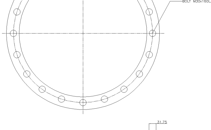 Blind Flange 20 Inch Class 150