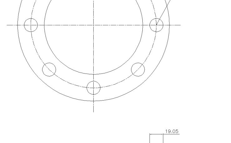 Blind Flange 3 1/2 Inch Class 150