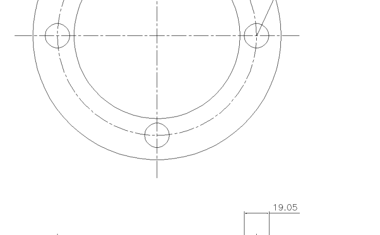 Blind Flange 3 Inch Class 150
