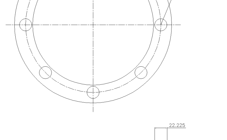 Blind Flange 6 Inch Class 150