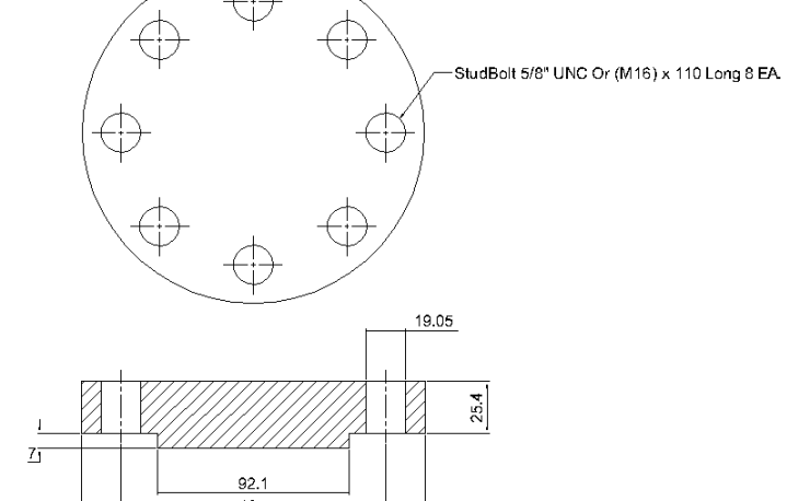 Blind Flange 2 Inch Class 600