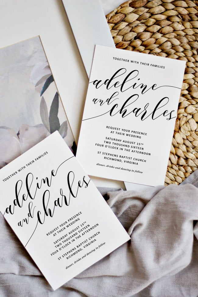 How To Make Your Own Wedding Invitations Pipkin Paper Company