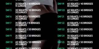 30 day butt challenge