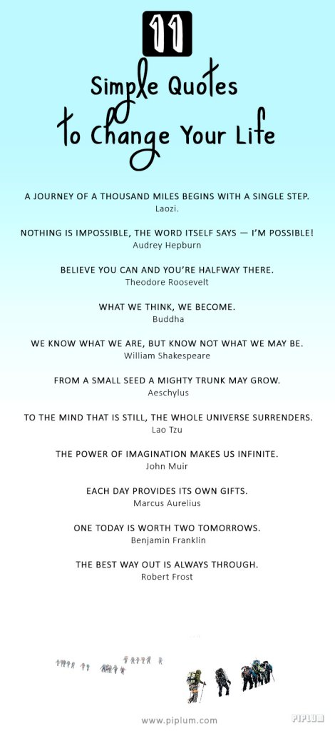 60 Simple Ispirational Quotes To Change Your Life [pictures] Enchanting Simple Quotes About Life