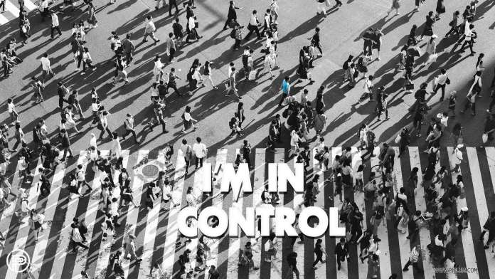 I-am-in-control-inspirational-quote-crossroads-many-people-busy-city