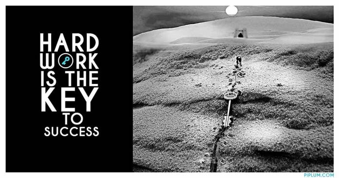 Man-dragging-success-key-through-the-desert-Motivational-quote-surreal-art-photomanipulation-inspirational-quote