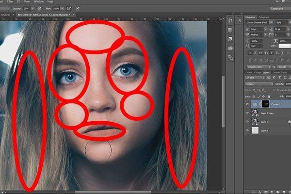 best selfie filters girl face edited