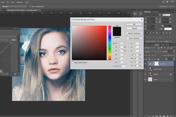 Best photo editor. How to edit selfie fast tutorial