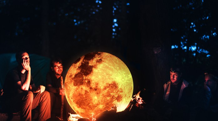 Moon-in-the-fire.-Photo-Manipulation.