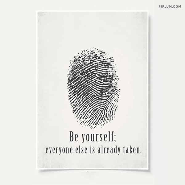 You-are-unique-don't-try-to-be-someone-else-life-lesson-quote