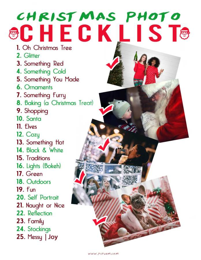 how-to-capture-beautiful-christmas-photo-checklist-ideas-poster