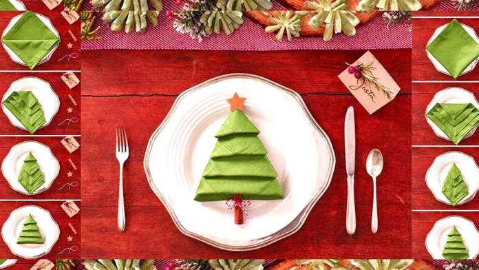 how-to-fold-a-Christmas-tree-napking-folding-tutorial