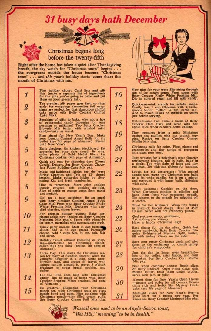 Old-school-Christmas-checklist