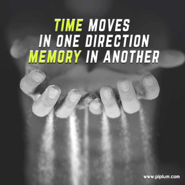 The-direction-of-time-and-your-memory-Inspirational-quote