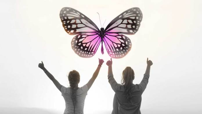 women-is-a-butterfly-luxury-friends-quotes-art-surreal-fashio-gems