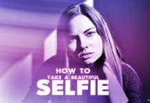 A-beautiful-girl-selfie-with-purple-filter-instagram-and-celebrities-look