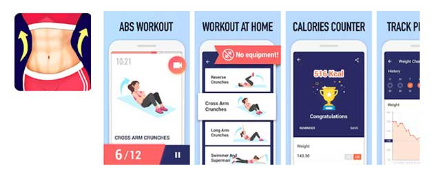 Abs-Workout-Burn-Belly-Fat-with-No-Equipment