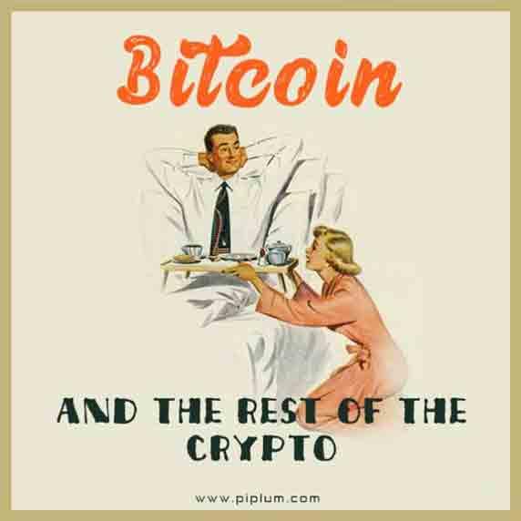 Bitcoin-enslaved-all-other-cryptos-funny-joke