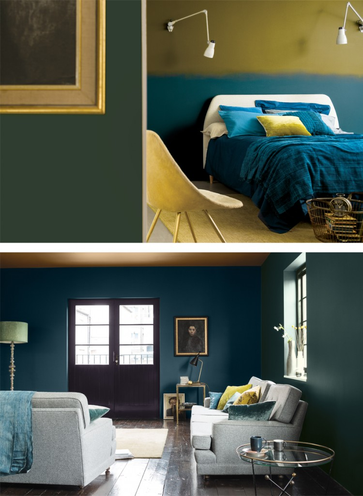Dark Amp Light Dulux Paint Trends For 2016