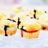 Blaubeer-Buttermilch Muffins