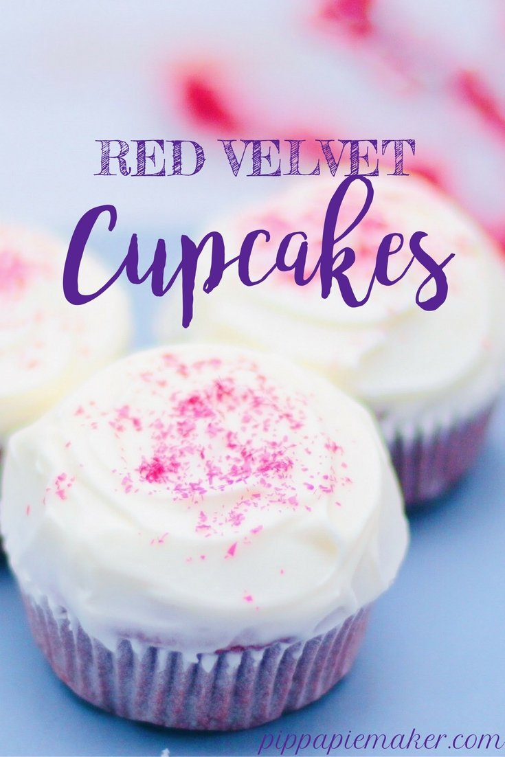 Red Velvet Cupcakes by pippapiemaker.com