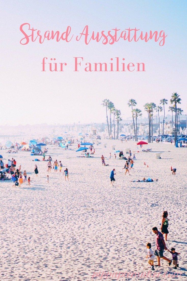 Strandausstattung für Familien pippapiemaker.com