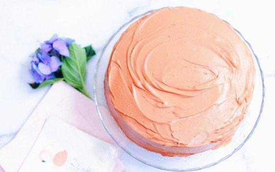 Schokoladen-Buttermilch-Kuchen