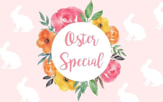 Oster Special und ein Freebie Frühlingsmalbuch