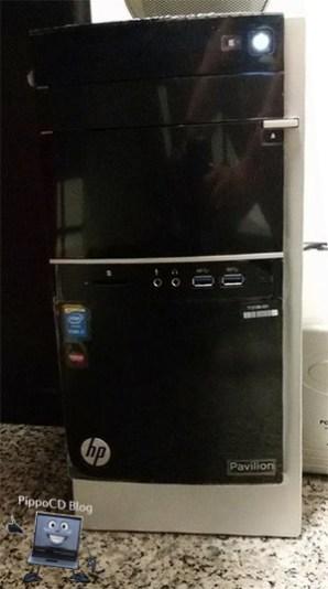 HP Pavilion 500 case