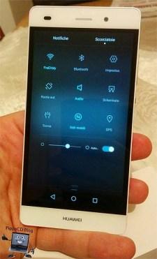 Huawei P8 Lite scorciatoie