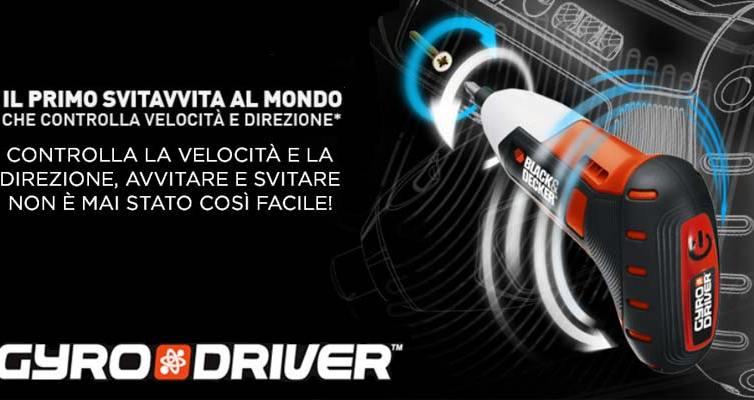 Black & Decker Gyro Driver copertina