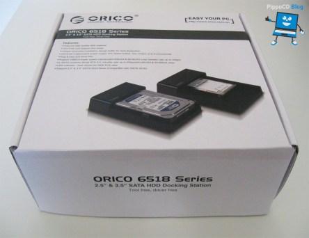 Orico 6518us3 scatola
