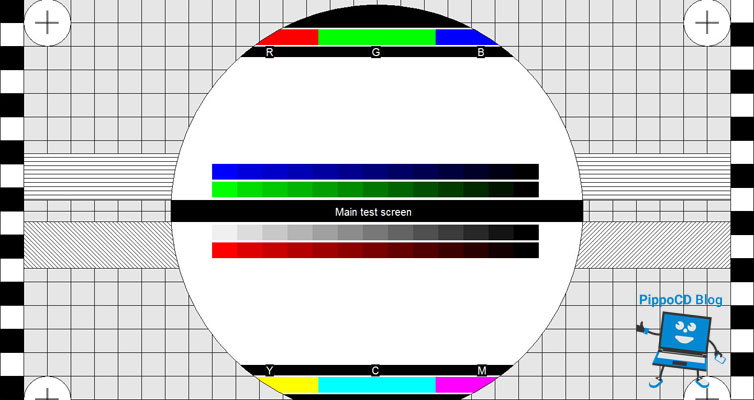 Test monitor eizo