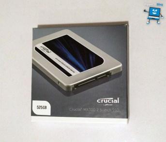 SSD Crucial MX300 scatola