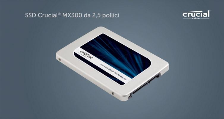 SSD Crucial MX300 Recensione
