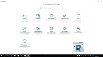 Windows 10 Creators Update impostazioni