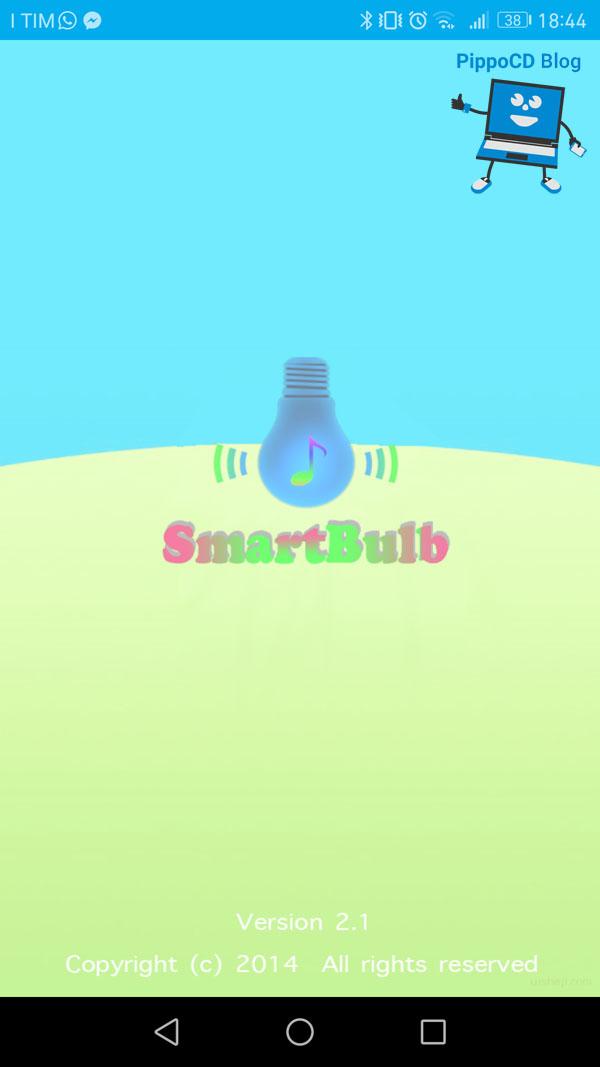 JBSmartbulb app controllo lampada