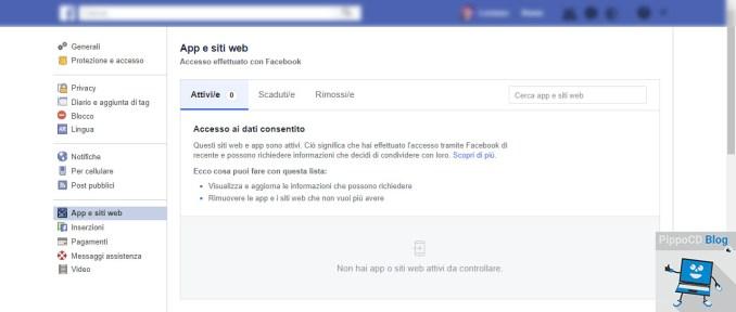Facebook modifica app e siti web