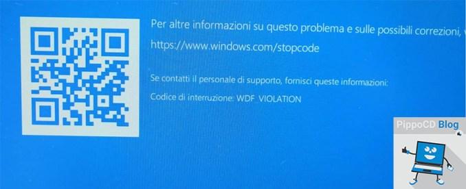Windows 10 WDF_VIOLATION BSOD