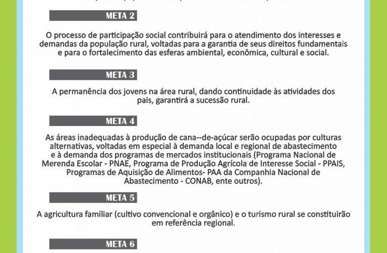 DIMENSÃO RURAL E SUAS METAS