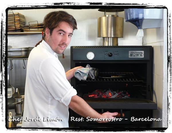 Chef Jordi Limón - Horno brasa Pira 48 black