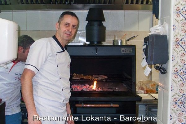 Restaurante Lokanta - Horno brasa Pira 50 lux black