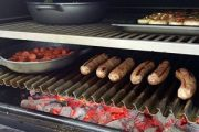 049 - Showcooking with Pira charcoal ovens