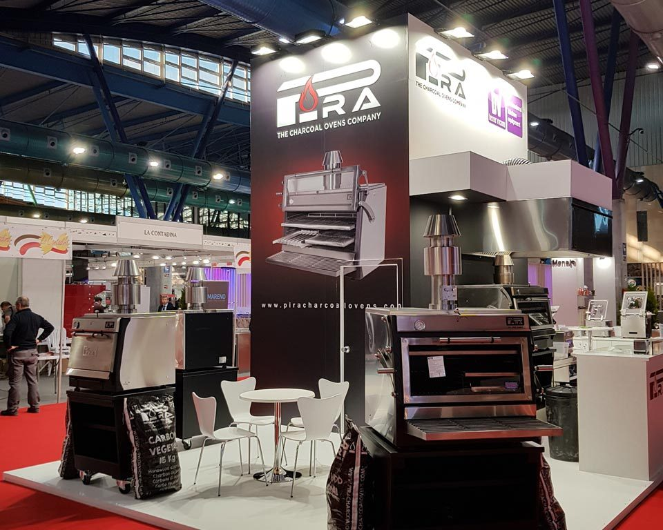 Pira Stand from the side at HYT Malaga