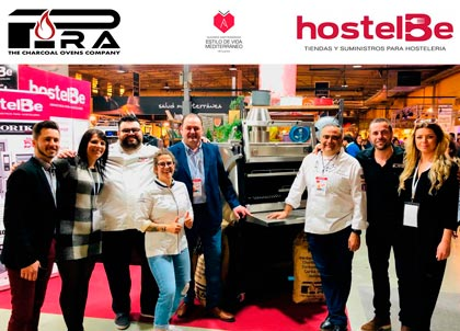 Pira stand with HostelBe at Gastronomica Alicante